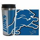 Detroit Lions Travel Mug 14oz Full Wrap Style Hype Design