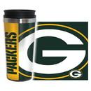 Green Bay Packers Travel Mug 14oz Full Wrap Style Hype Design