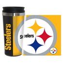 Pittsburgh Steelers Travel Mug 14oz Full Wrap Style Hype Design