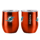 Miami Dolphins Travel Tumbler 16oz Ultra Curved Beverage
