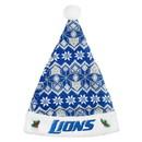 Detroit Lions Knit Santa Hat - 2015