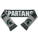Michigan State Spartans Split Logo Reverse Scarf - 2015