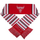 Chicago Bulls Glitter Stripe Scarf
