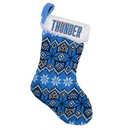 Oklahoma City Thunder Knit Holiday Stocking - 2015