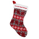 Detroit Red Wings Knit Holiday Stocking - 2015