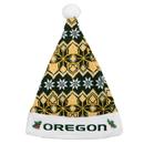 Oregon Ducks Knit Santa Hat - 2015