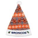 Denver Broncos Knit Santa Hat - 2015