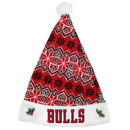 Chicago Bulls Knit Santa Hat - 2015