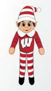 Wisconsin Badgers Plush Elf