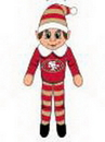 San Francisco 49ers Plush Elf