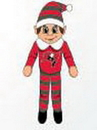 Tampa Bay Buccaneers Plush Elf