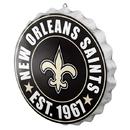 New Orleans Saints Sign Bottle Cap Style