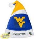 West Virginia Mountaineers Basic Santa Hat - 2016
