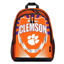 Clemson Tigers Backpack Lightning Style Special Order