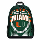 Miami Hurricanes Backpack Lightning Style Special Order