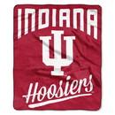 Indiana Hoosiers Blanket 50x60 Raschel Alumni Design