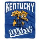 Kentucky Wildcats Blanket 50x60 Raschel Alumni Design