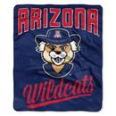Arizona Wildcats Blanket 50x60 Raschel Alumni Design Special Order