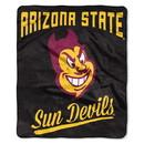 Arizona State Sun Devils Blanket 50x60 Raschel Alumni Design