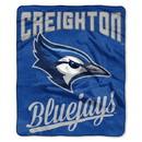 Creighton Bluejays Blanket 50x60 Raschel Alumni Design