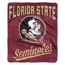 Florida State Seminoles Blanket 50x60 Raschel Alumni Design