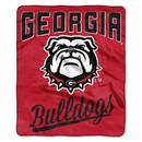 Georgia Bulldogs Blanket 50x60 Raschel Alumni Design