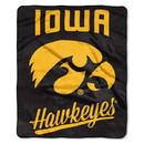 Iowa Hawkeyes Blanket 50x60 Raschel Alumni Design