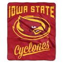 Iowa State Cyclones Blanket 50x60 Raschel Alumni Design