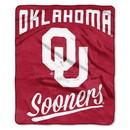 Oklahoma Sooners Blanket 50x60 Raschel Alumni Design