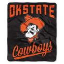 Oklahoma State Cowboys Blanket 50x60 Raschel Alumni Design