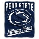 Penn State Nittany Lions Blanket 50x60 Raschel Alumni Design