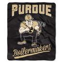 Purdue Boilermakers Blanket 50x60 Raschel Alumni Design