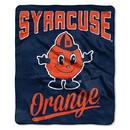 Syracuse Orange Blanket 50x60 Raschel Alumni Design Special Order