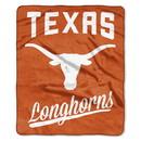 Texas Longhorns Blanket 50x60 Raschel Alumni Design