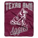Texas A&M Aggies Blanket 50x60 Raschel Alumni Design