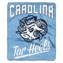North Carolina Tar Heels Blanket 50x60 Raschel Alumni Design