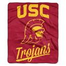 USC Trojans Blanket 50x60 Raschel Alumni Design