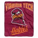 Virginia Tech Hokies Blanket 50x60 Raschel Alumni Design
