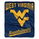 West Virginia Mountaineers Blanket 50x60 Raschel Alumni Design