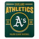 Oakland Athletics Blanket 50x60 Fleece Southpaw Design Special Order
