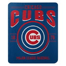 Chicago Cubs Blanket 50x60 Fleece Southpaw Design