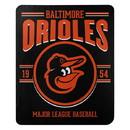 Baltimore Orioles Blanket 50x60 Fleece Southpaw Design Special Order
