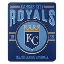 Kansas City Royals Blanket 50x60 Fleece Southpaw Design