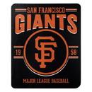 San Francisco Giants Blanket 50x60 Fleece Southpaw Design
