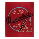 Arizona Diamondbacks Blanket 50x60 Raschel Moonshot Design