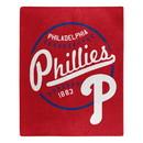 Philadelphia Phillies Blanket 50x60 Raschel Moonshot Design