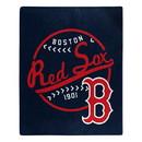 Boston Red Sox Blanket 50x60 Raschel Moonshot Design