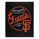 San Francisco Giants Blanket 50x60 Raschel Moonshot Design