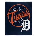 Detroit Tigers Blanket 50x60 Raschel Moonshot Design