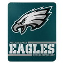 Philadelphia Eagles Blanket 50x60 Fleece Split Wide Design